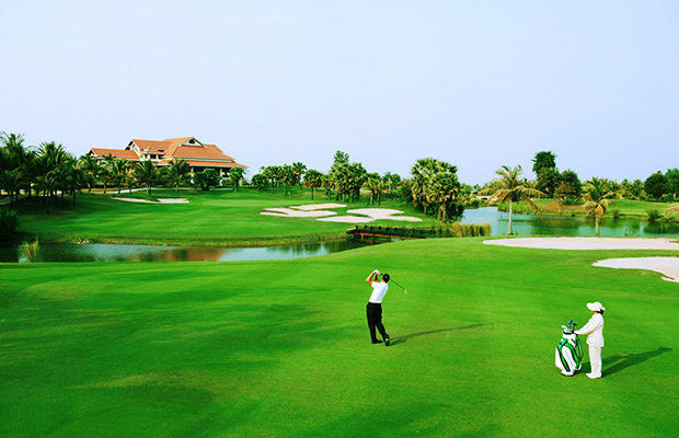 4 Days Golf & Sightseeting in Siem Reap