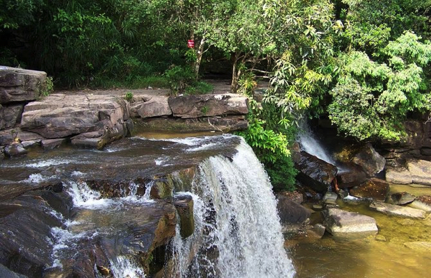 Kbal Chhay Waterfall and Sihanouk Ville City
