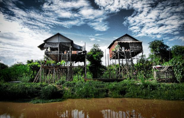 Kompong Phluk Village and Tonle Sap Lake
